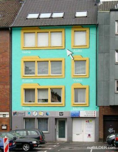 Coole Windows Fassade